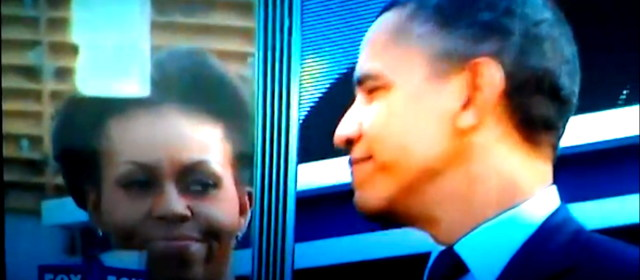 Obama smirks at the dead